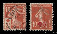 Frankrig 1914 -  YT 146/47 - Stemplet