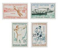 Frankrig 1958 - YT 1161/64 - Ubrugt
