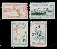 France 1958 - YT 1161-64 - Neuf avec charnière