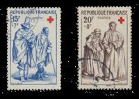 France 1957 - YT 1140-41 - Oblitéré