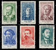 France 1958 - YT 1166-71 - Oblitéré