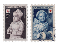 Frankrig 1951 - YT 914/15 - Stemplet