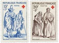 Frankrig 1957 - YT 1140/41 - Ubrugt