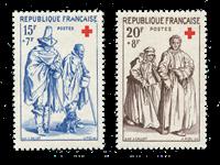 France 1957 - YT 1140-41 - Neuf avec charnière