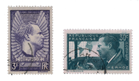 Frankrig 1937 - YT 337/38 - Stemplet