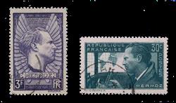 France 1937 - YT 337-38 - Oblitéré