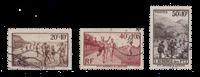 Frankrig 1937 - YT 345/47 - Stemplet