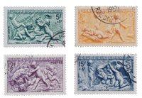 Frankrig 1949 - YT 859/62 - Stemplet