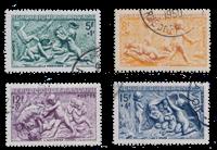 France 1949 - YT 859-62 - Oblitéré