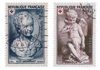 Frankrig 1950 - YT 876/77 - Stemplet