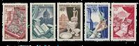 Frankrig 1954 - YT 970/74 - Ubrugt