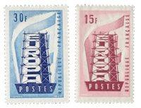Frankrig 1956 - YT 1076/77 - Ubrugt