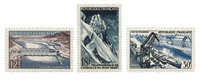 France 1956 - YT 1078/80 - Unused