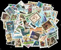 Côte d´Ivoire - Sélection de timbres des années 1960-89