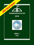 AFA Vesteuropa frimærkekatalog bind 1, 2016 (A-G),