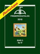 AFA Vesteuropa frimærkekatalog bind 3, 2016 (Sp-Ø)