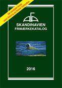 AFA Scandinavia stamp catalogue 2016 with sprial back binding