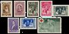 Belgien 1939 - OBP 496/503 - Postfrisk