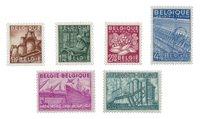 Belgien 1948 - OBP 767/72 - Postfrisk