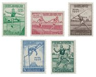 Belgique 1950 - OBP 827/31 - Neuf