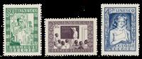 Belgique 1951 - OBP 842/44 - Neuf