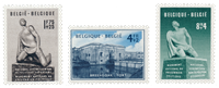 Belgique 1951 - OBP 860/62 - Neuf