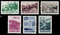Belgique 1953 - OBP 918/23 - Neuf