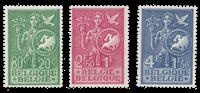 Belgique 1953 - OBP 927/29 - Neuf