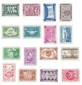 Belgien 1958 - OBP 1053/62 + LP 30/35 - Postfrisk