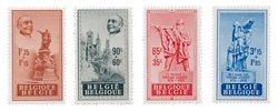 Belgique 1948 - OBP 781/84 - Neuf