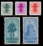 Belgien 1949 - OBP 787/91 - Postfrisk