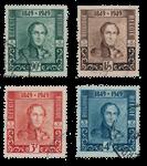 Belgien 1949 - OBP 807/10 - Stemplet