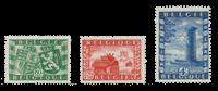Belgique 1950 - OBP 823/25 - Neuf