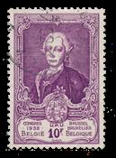 Belgien 1952 - OBP 889 - Stemplet