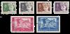 Belgien 1955 - OBP 955/60 - Stemplet