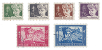 Belgique 1955 - OBP 955/60 - Oblitéré