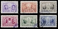 Belgien 1957 - OBP 1013/18 - Stemplet