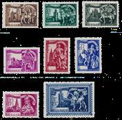 Belgium 1943 - OBP 631/38 - Mint