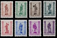 Belgium 1943 - OBP 615/22 - Mint