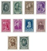 Belgien 1941 - OBP 573/82 - Postfrisk