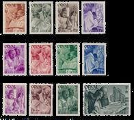 Belgien 1939 - OBP 556/67 - Postfrisk