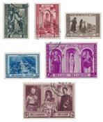 Belgien 1939 - OBP 513/18 - Stemplet