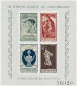 Luxembourg 1946 - Michel Blok 5 - Postfrisk