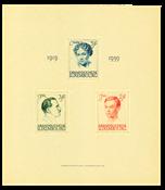 Luxemburg 1939 - Michel Blok 3 - Postfris