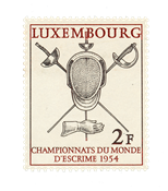 Luxembourg 1954 - Michel 523 - Neuf
