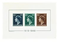 Luxembourg 1949 - Michel bloc 7 - Neuf