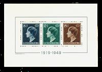 Luxemburg - 1949 - Michel Block 7 - Postituore