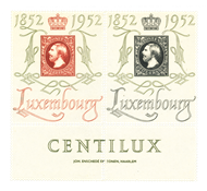 Luxembourg 1952 - Michel 488/89 - Neuf