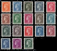 Luxembourg 1948 - Michel 442/59 - Neuf