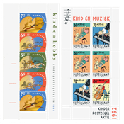 Holland 1990-1995 - NVPH 1460, 1486, 1541, 1578, 2627, 1661 - Postfrisk